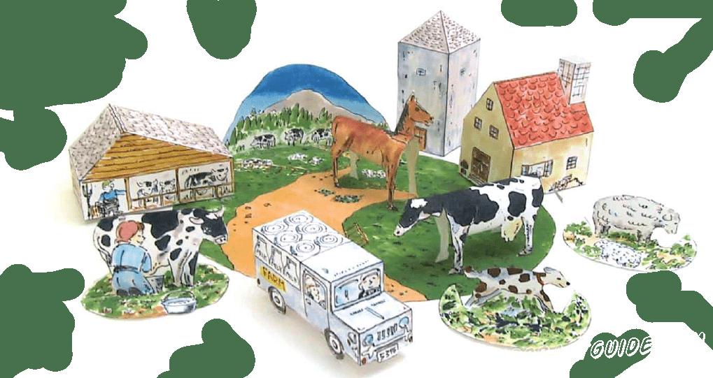 Живешь в душном городе и мечтаешь о деревенской красоте? есть отличный способ сделать деревенскую ферму из бумаги, прямо у себя дома. Скорее качай схему и пошаговую инструкцию во вложенном файле.