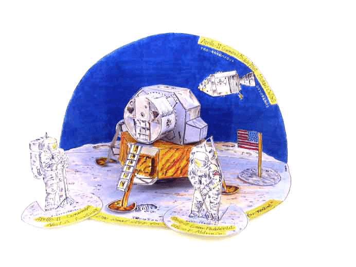 Первая высадка на Луну