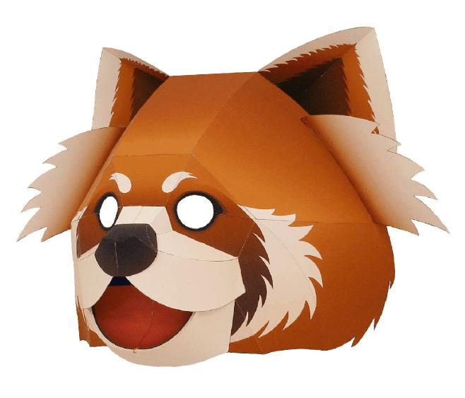 Малая панда (маска)