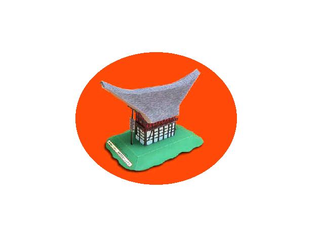 Tongkonan high-floored dwelling