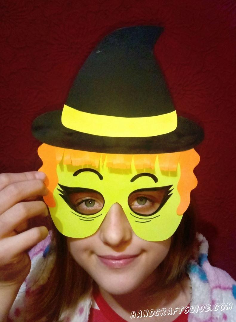 Такая вот интересная маска получилась у нас. До новых встреч, друзья!
