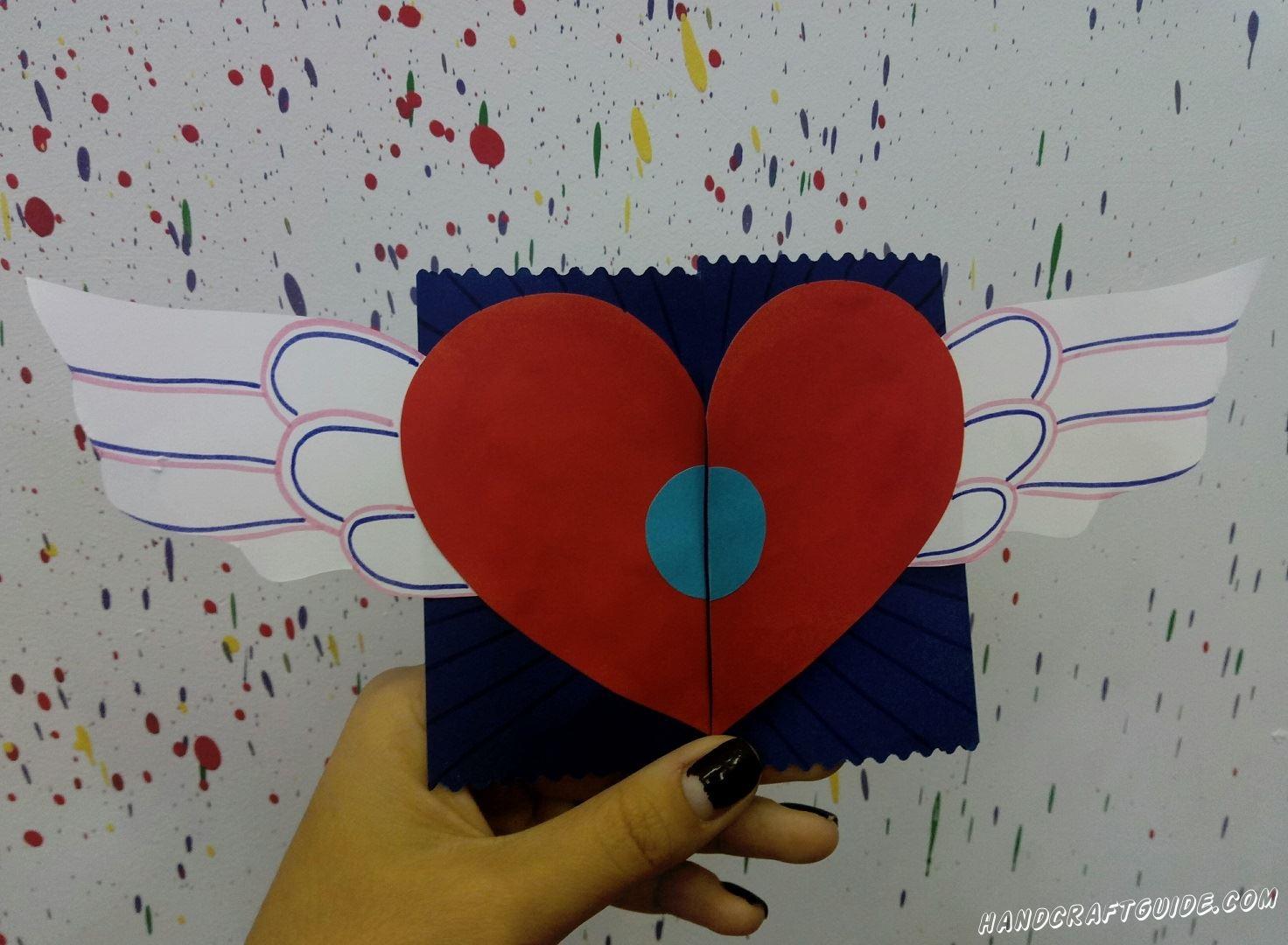 открытка для подарка своими руками