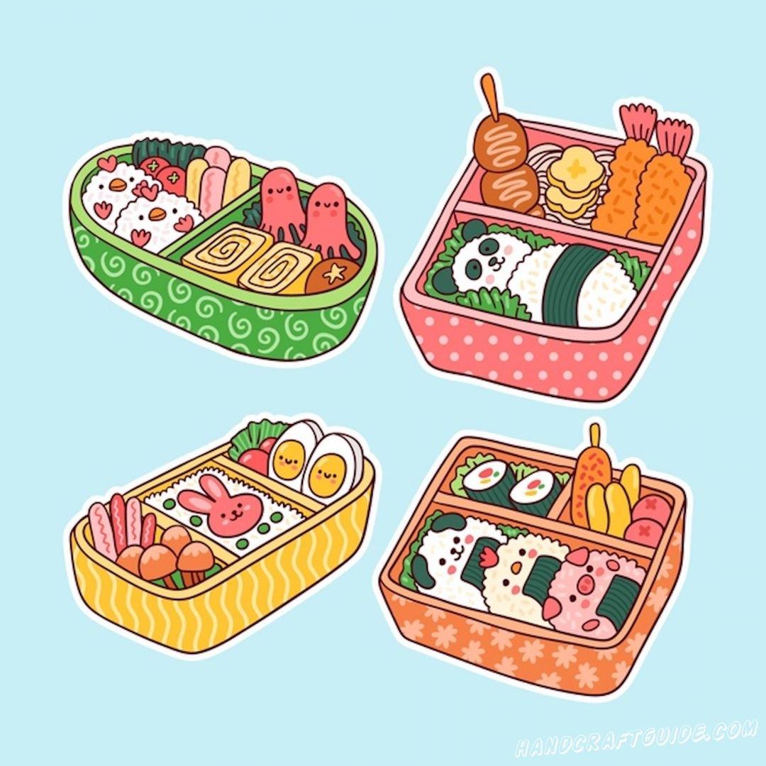 срисовки для скетчбука еда