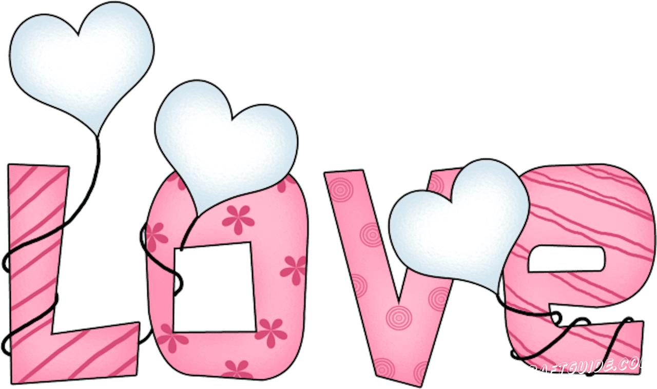 надпись любовь для срисовки