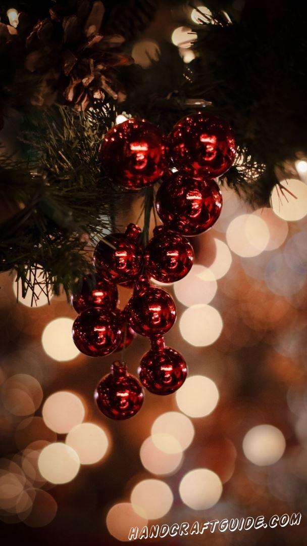 заставки рождественская елка