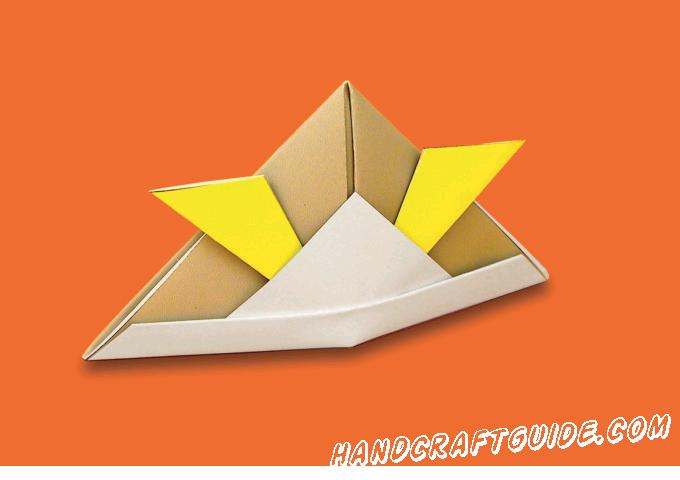 Создай настоящий самурайский шлем из бумаги, своими руками. Пошаговая инструкция уже ждет вас во вложенном файле.