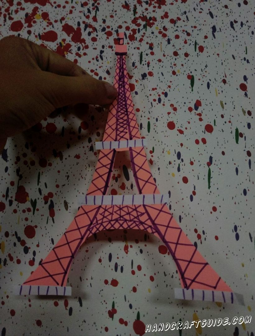 """Отправляемся в романтический Париж. Сегодня мы сделаем """"Эйфелеву башню"""" своими руками."""