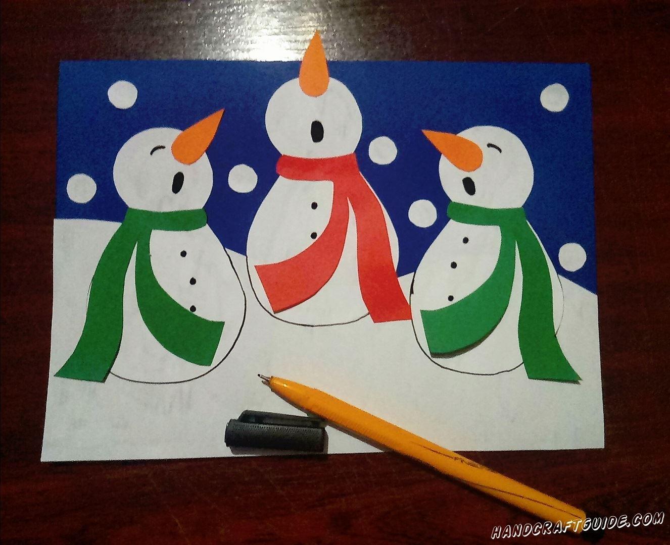 Приветик всем. Даже когда на улице нет снега мы можем сделать снеговиков. Как? Сейчас мы вам всё расскажем.