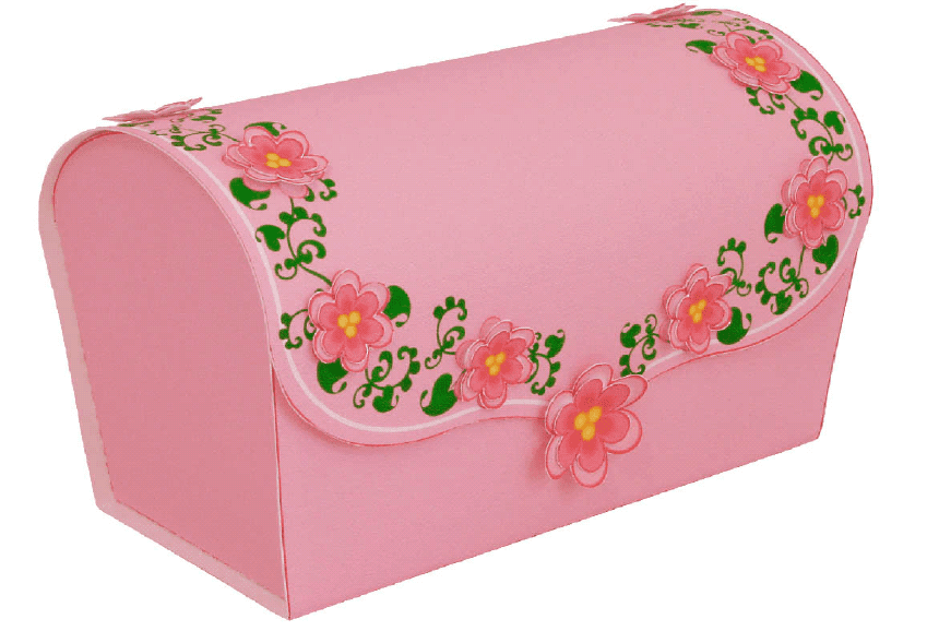 Gift Box(Pink, Brown, Blue)