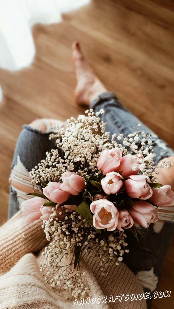 заставки цветы на айфон