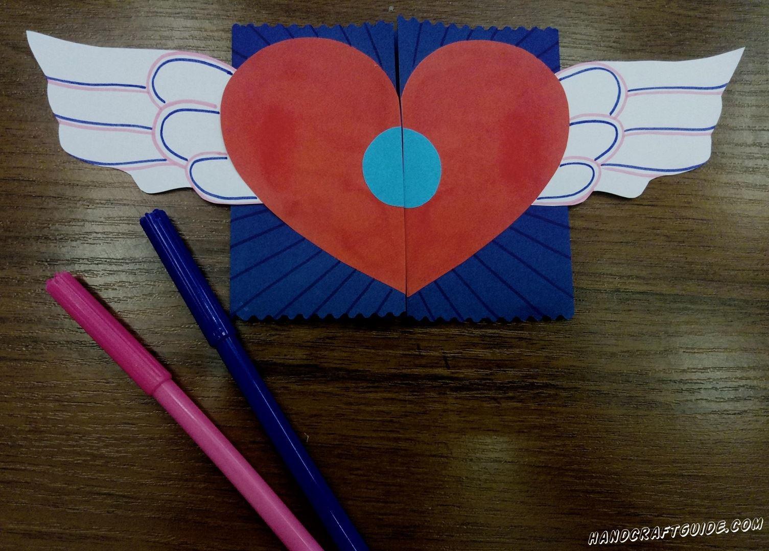 Красиво разрисовываем открытку