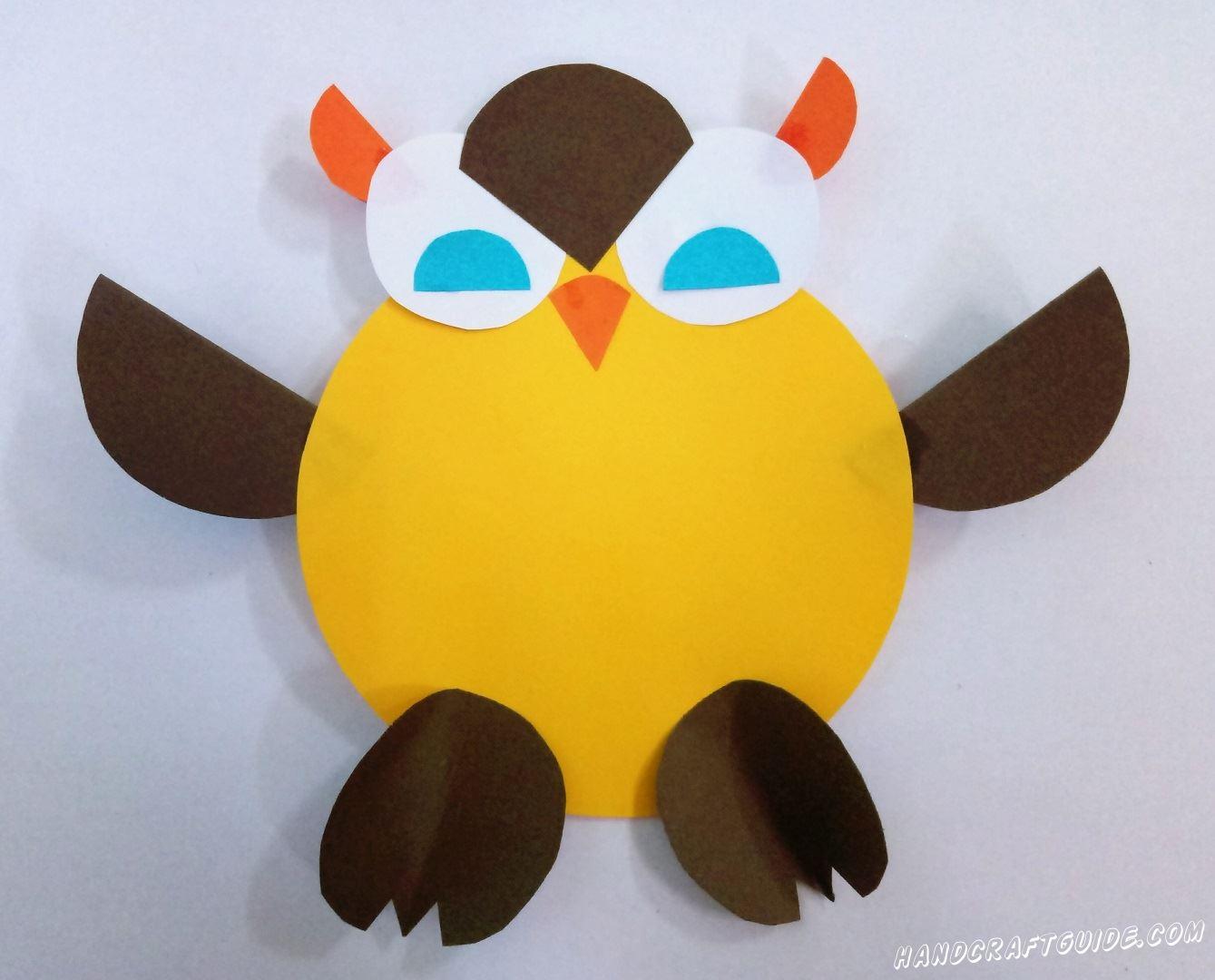 Такая мудрая птица теперь украсит ваш дом. До новых встреч, друзья!