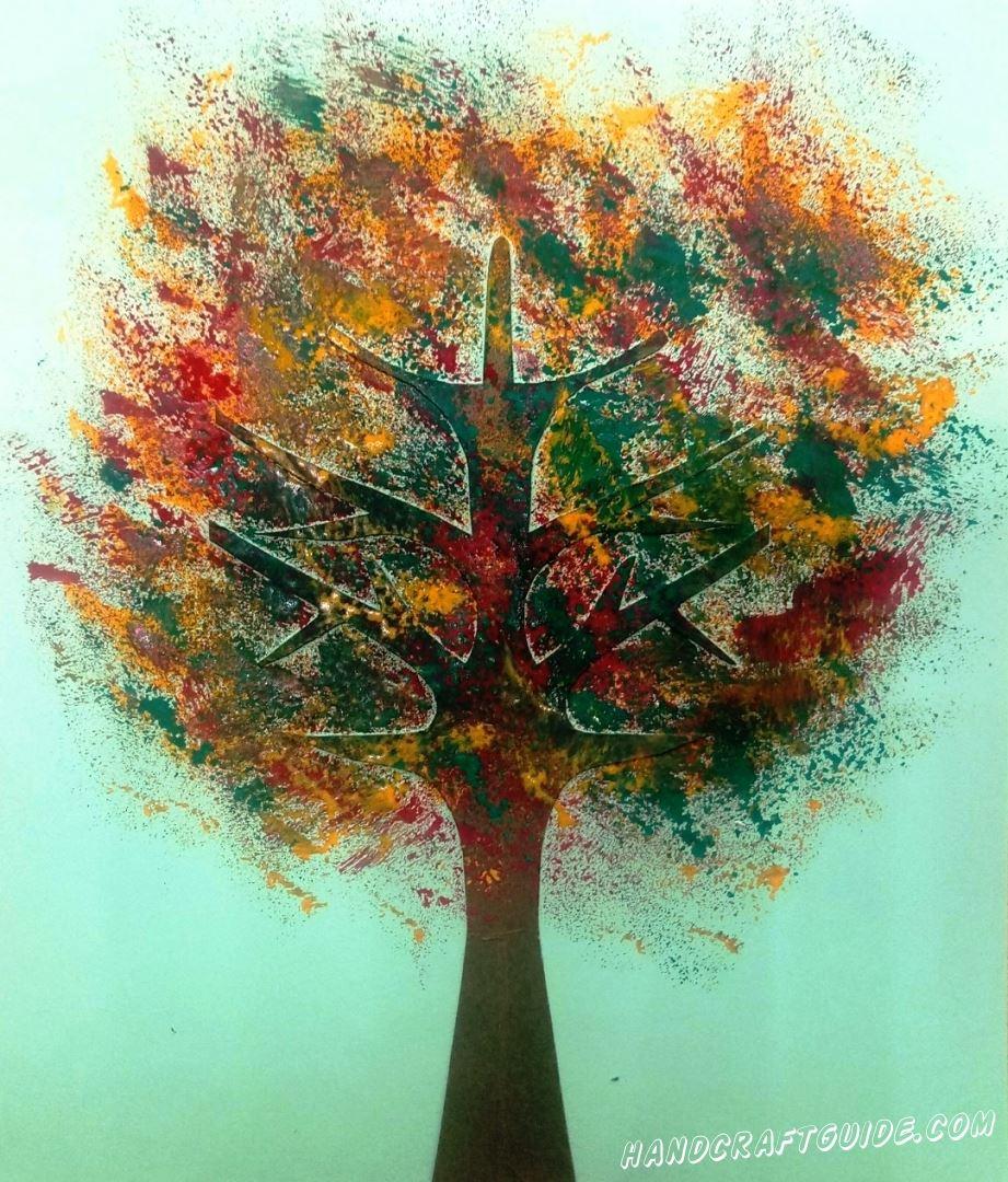 Эта картина передают всю красоту и эмоции, как и сама золотистая осень!