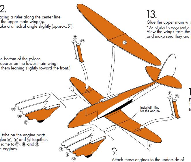 Настоящий самолётик сделанный своими руками - это реальность! Распечатай,следуй всем инструкциям и пополняй свой ангар новыми самолётами.