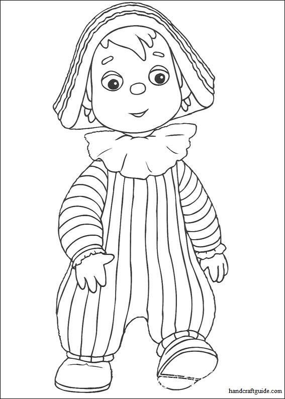 """Кукольные персонажи великолепного мультфильма """"Энди Пенди"""" потеряли свои цвета. Давайте скорее возьмем в руки цветные карандаши, распечатаем раскраски и подарим яркие краски нашим картинкам."""