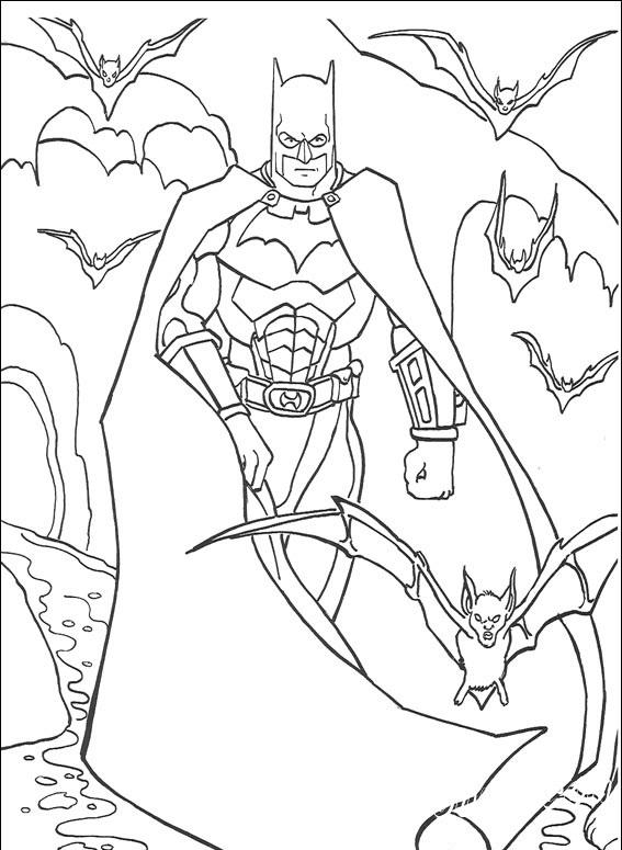 Бэтмен - Раскраски, Герои из мультиков, для детей от 5 лет ...