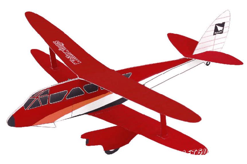Биплан: схема (красный цвет)