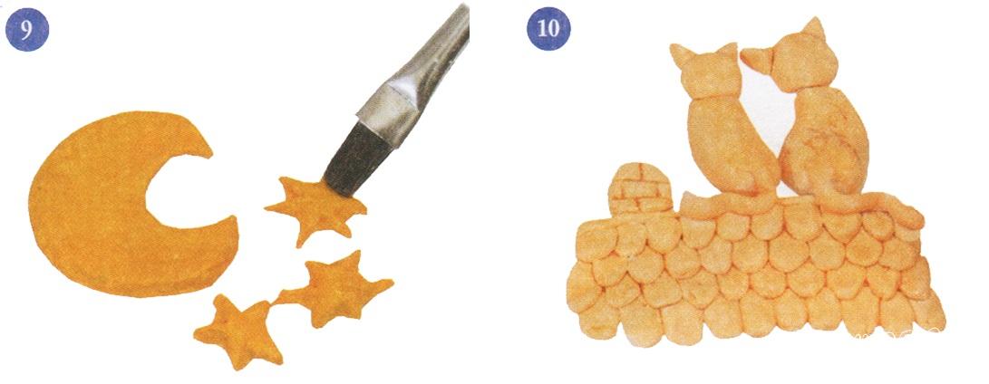 как сделать котиков из соленого теста своими руками