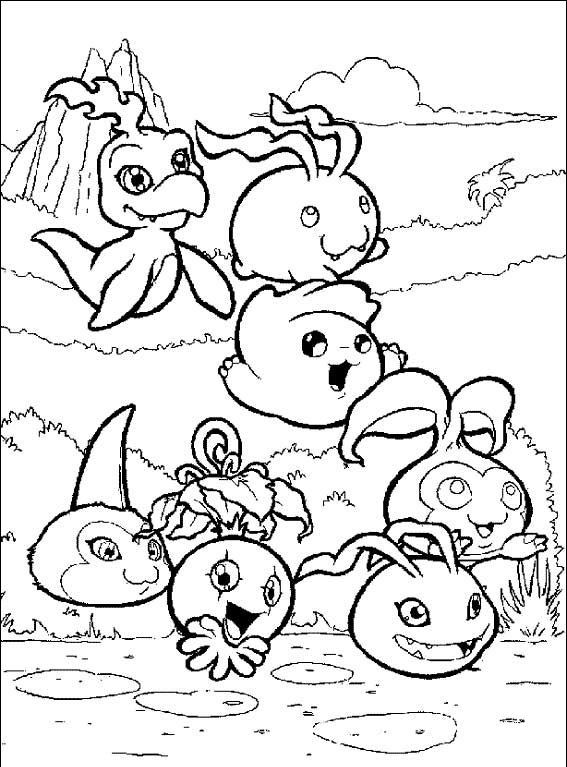 Coloring Book Agumon Digimon Masters, PNG, 3641x4485px, Coloring ... | 767x567