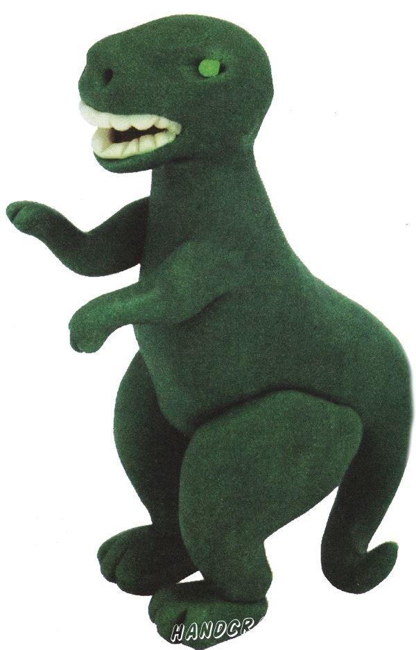 Динозавр из пластилина для детей любого возраста