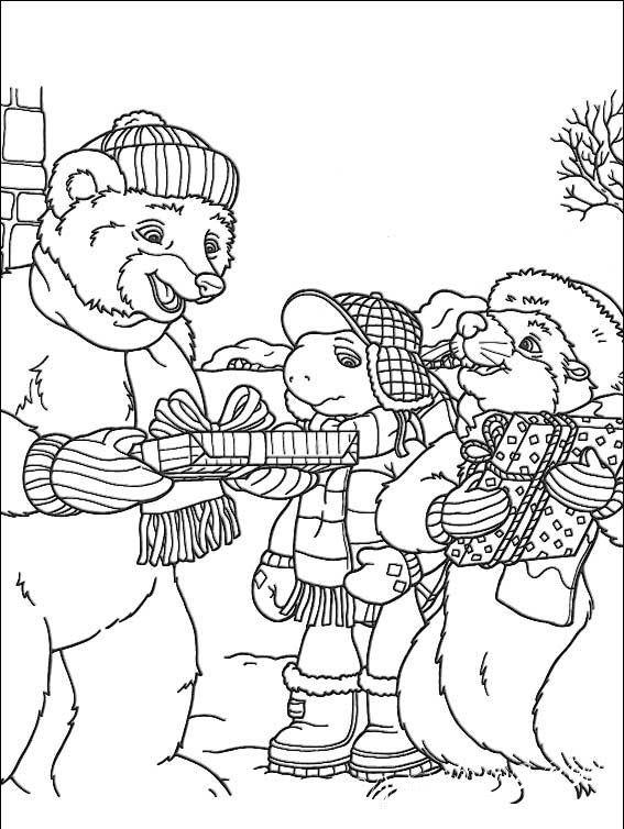 Истории черепашки Франклина и его друзей в подборке раскрасок, специально для вас. Разукрась лучшие моменты любимого мультфильма, прямо сейчас.