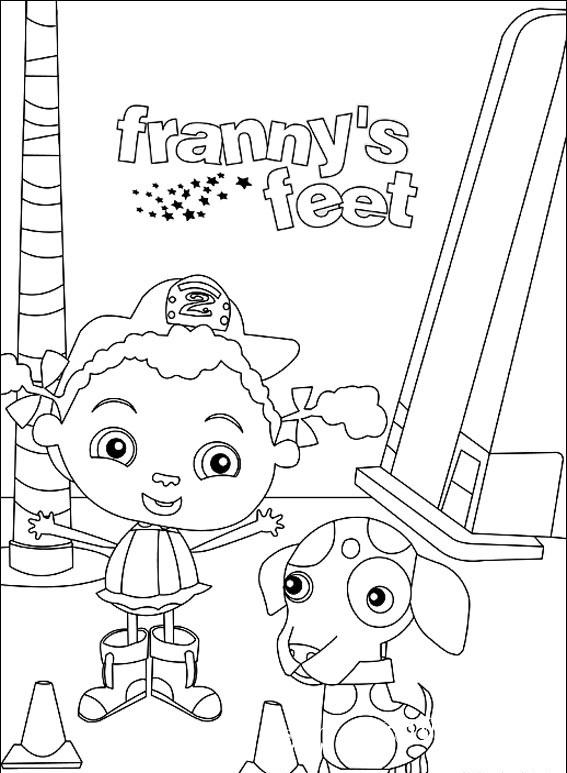 Франни и Башмачки - это канадско-американския анимированный детский сериал, создателями которого являются Кэтти Мосс и Сьюзэн Нелсен.
