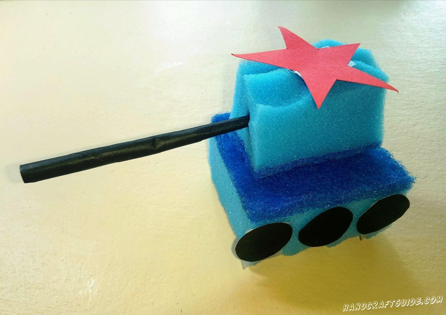 Отличная игрушка своими руками, получилась у нас!