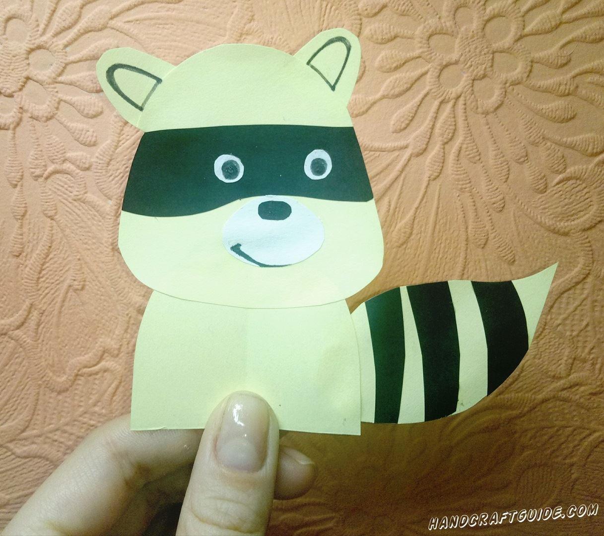 Создай себе ниндзя-енота из бумаги!