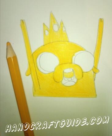 Теперь любимая часть – разрисовываем цветными карандашами