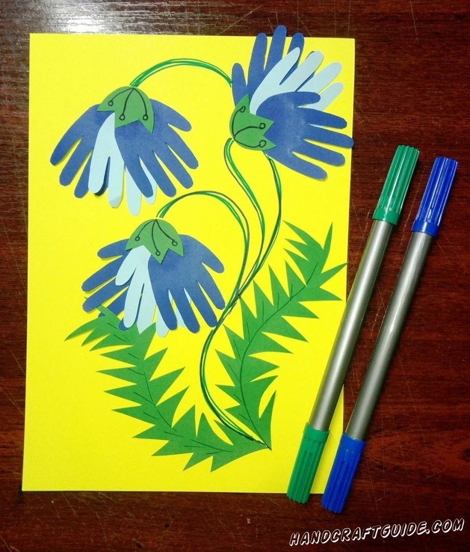 И остаться только разрисовать цветными фломастерами