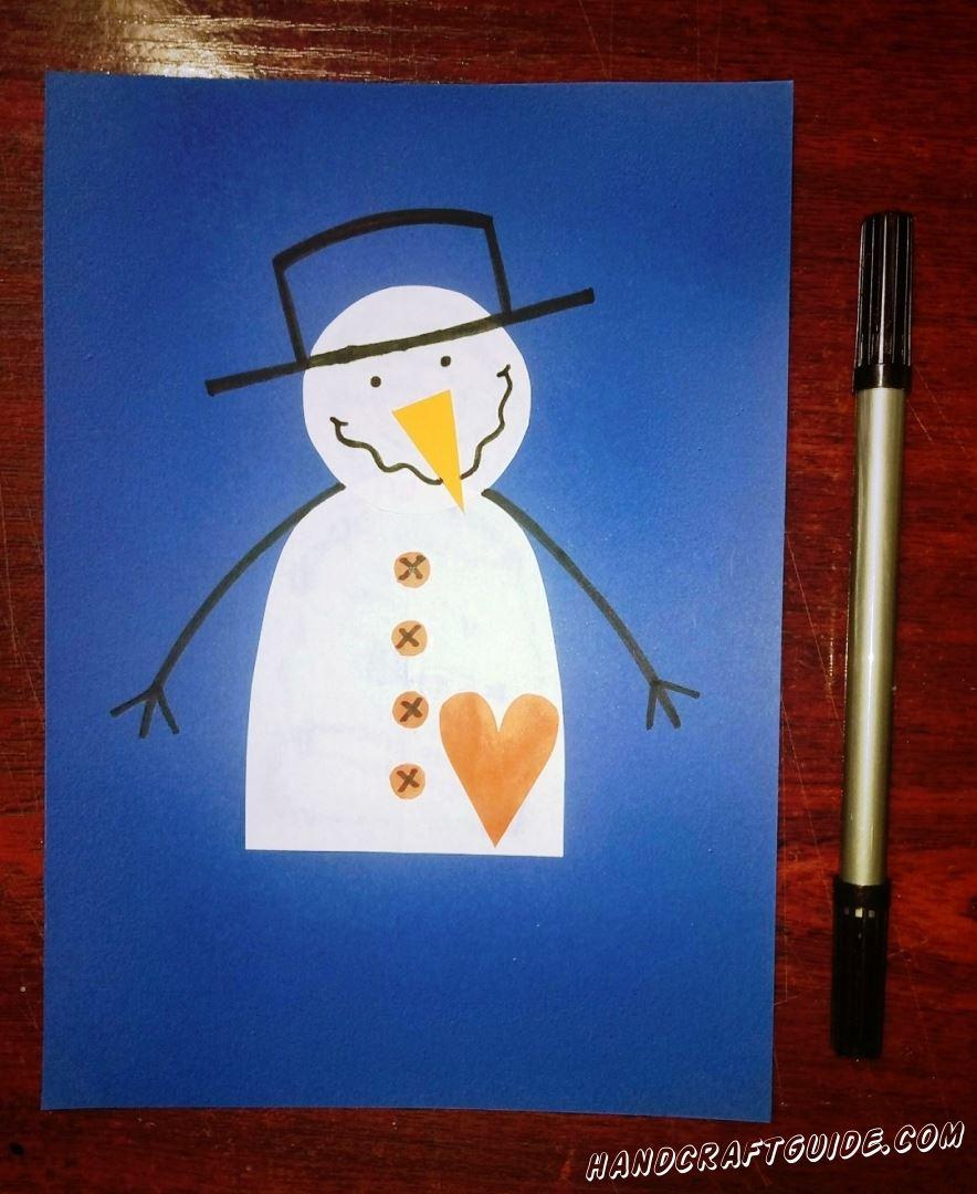 Берем в руки маркер и красиво разрисовываем