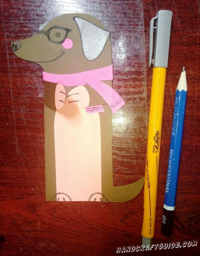 Разрисовываем маркером и карандашиком