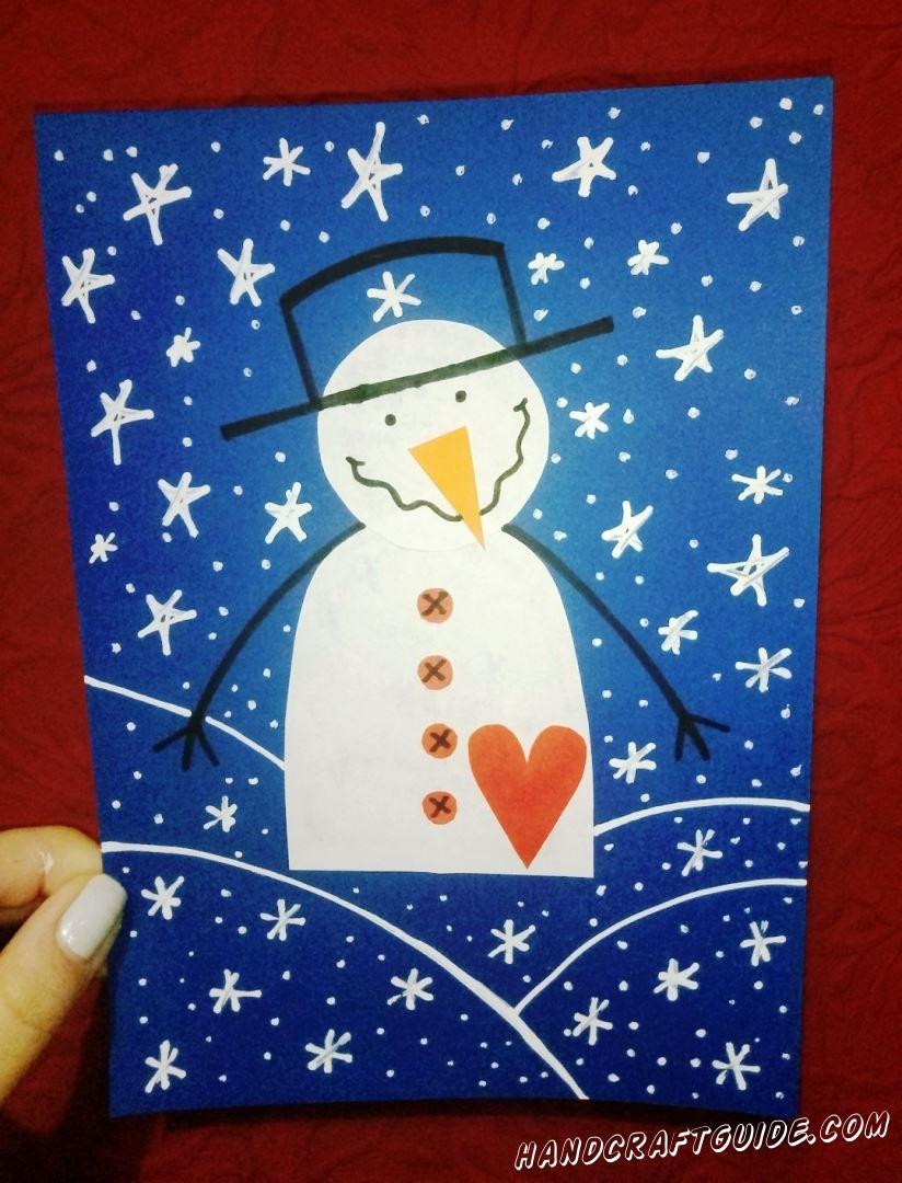 Пусть зимушка-зима вдохновляет нас на такие поделки и дальше!