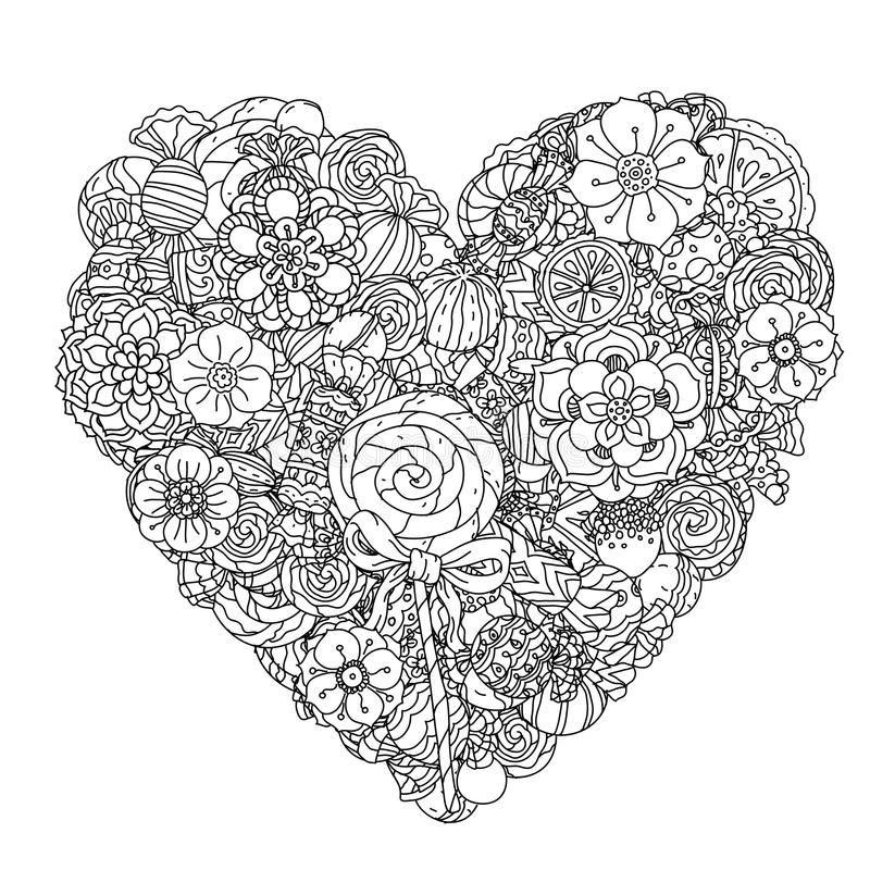 раскраски антистресс любовь