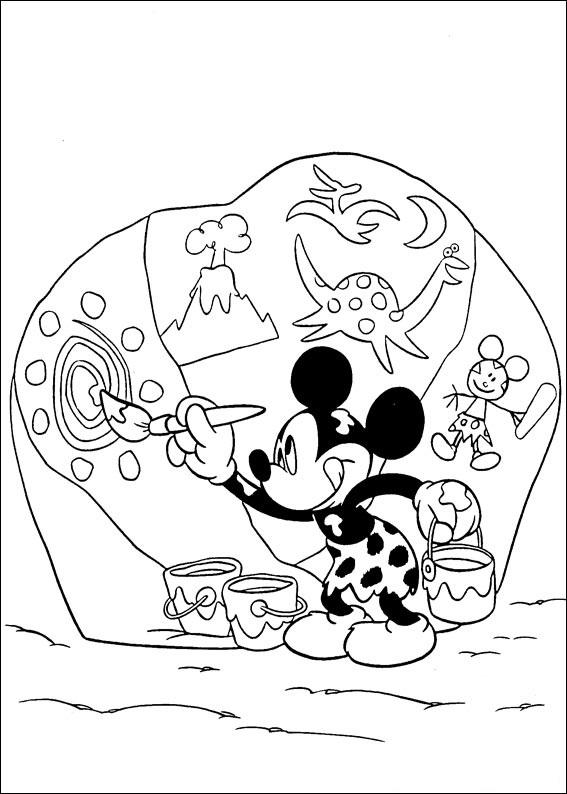 Шестая часть раскрасок с приключения всем известного мышонка - Микки Мауса. Скачать всю подборку одним файлом можно прямо сейчас.