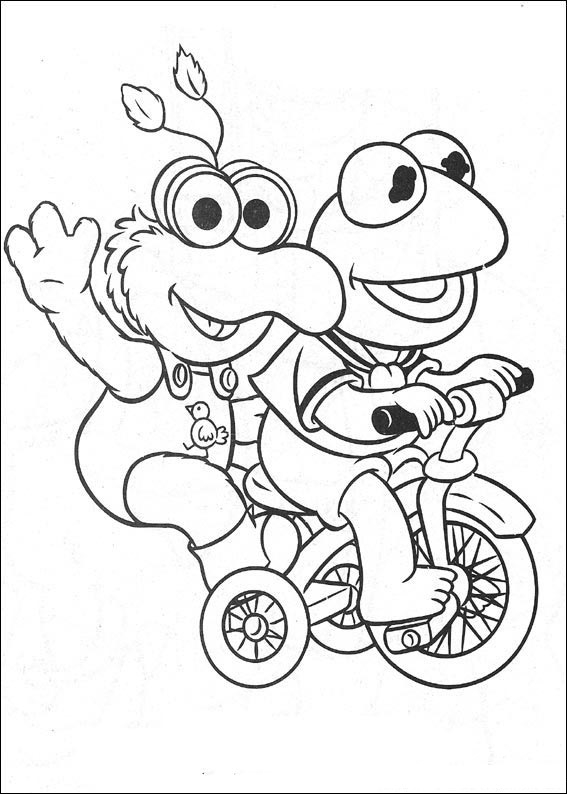 Jim Henson's Muppet Babies, commonly known by the shortened title Muppet Babies, is an American animated television series that aired from September 15, 1984 to November 2, 1991 on CBS. The show portrays childhood versions of the Muppets living together in a nursery under the care of a human woman called Nanny. Nanny appears in almost every episode, but her face is never visible; only the babies' view of her pink skirt, purple sweater, and distinctive green and white striped socks is shown.