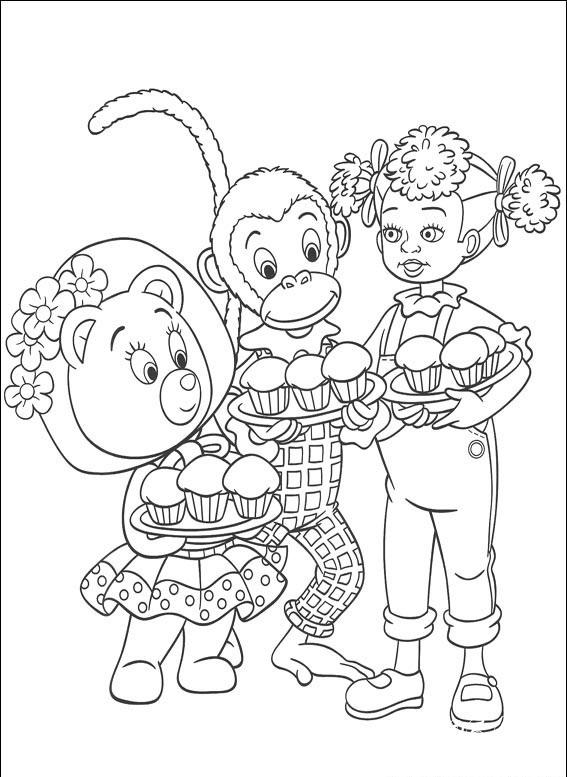 распечатать раскраски детские