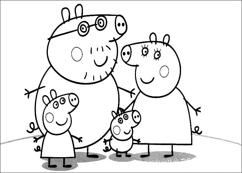 Свинка Пеппа — британский мультсериал из коротких мультфильмов по 5 минут. Главные герои сериала: Свинка Пеппа, её младший брат Джордж, мама Свинка и папа Свин. Постоянными персонажами являются бабушка и дедушка, а также друзья Пеппы, Джорджа и их родители.