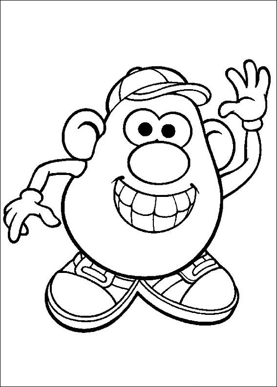 Картофельная голова  — американская игрушка, которая представляет собой пластиковую картофелину, к которой прилагается множество аксессуаров. В произвольном порядке они могут прикрепляться к «телу». В классический комплект Мистера Картофеля всегда входят глаза, уши, руки, ботинки, кепка, зубы, язык и усы, которые могут также превращаться в брови.
