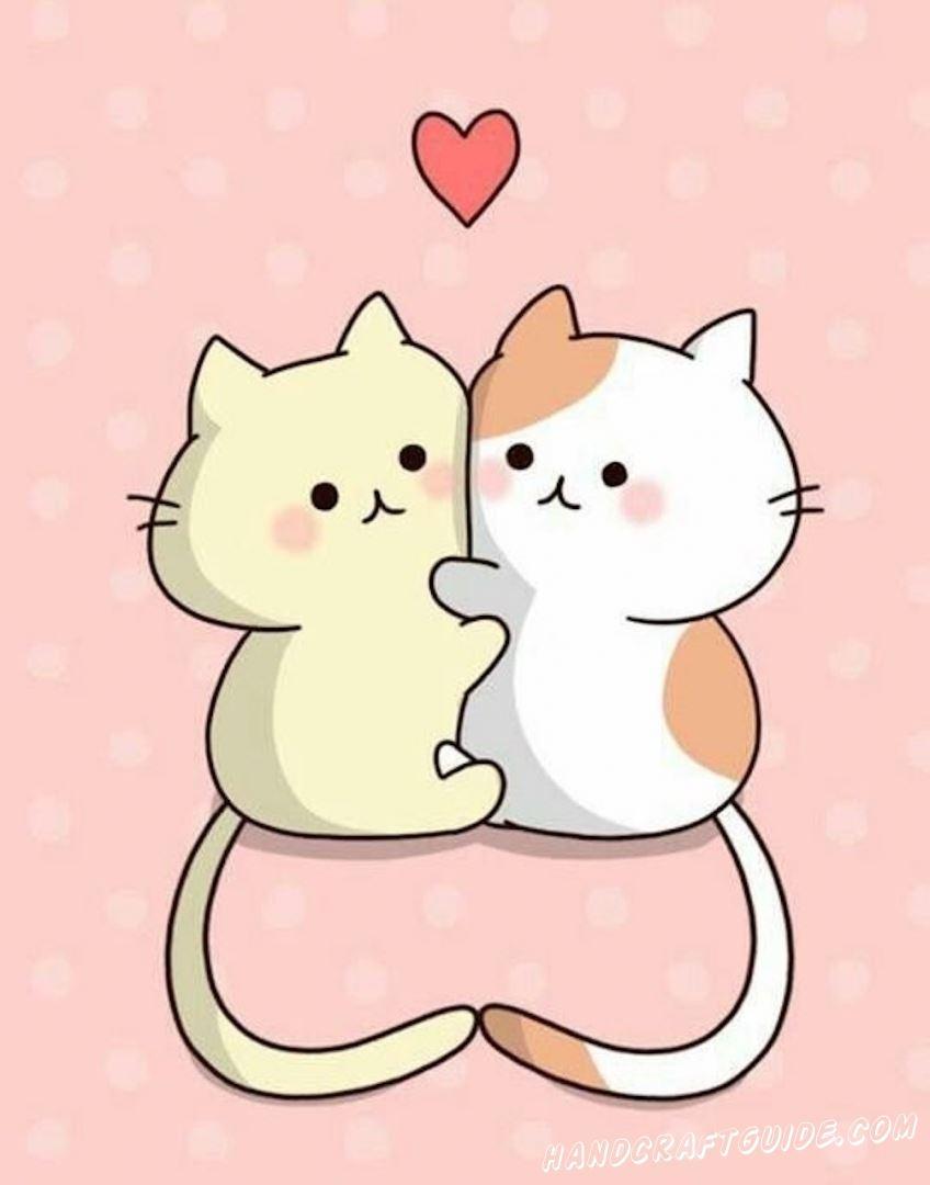 Милые котики моя для начинающих
