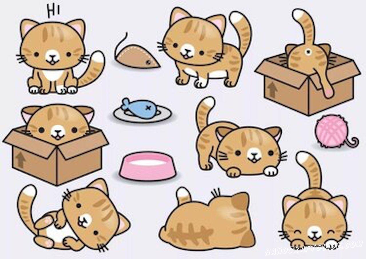Милые котики для начинающих
