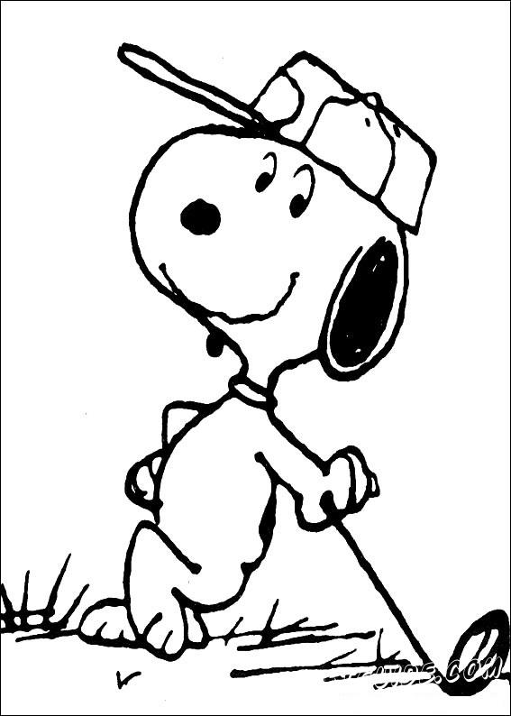 Снупи — вымышленный пёс породы бигль, популярный персонаж серии комиксов Peanuts, созданный художником Чарльзом М. Шульцом и впервые появившийся в комиксе 4 октября 1950 года. Оригинальный персонаж Снупи был вдохновлен образом детской собаки Шульца.