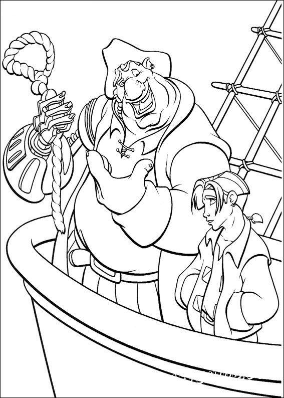 детские раскраски о пиратах
