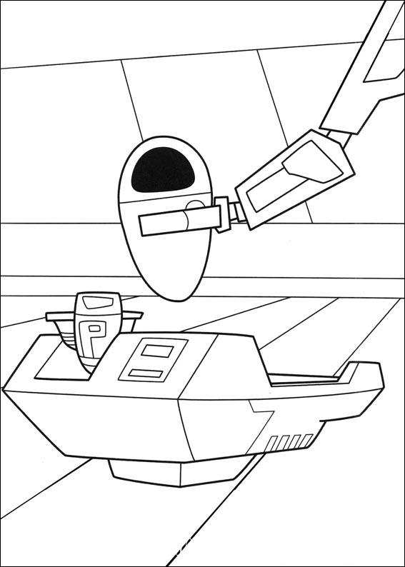 разукрашки космический корабль