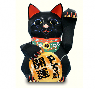 Maneki Neko(Lucky cat) Money, Charm, Happiness