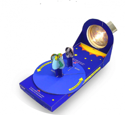 Покажите ребёнку как происходит затмение, в миниатюре нашей планеты с космоса, прямо сейчас. Одна из самых интересных бумажных поделок во вложенном файле, специально для вас.