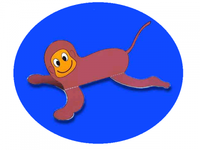 Right-side-up Monkey