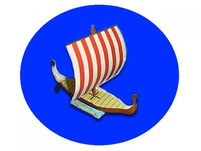 паперкрафт шаблон корабль