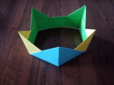 корона своими руками для детей из цветной бумаги