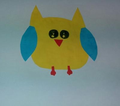 Поспешите к нам, ведь сейчас мы будем делать замечательную сову из цветной бумаги, своими руками!